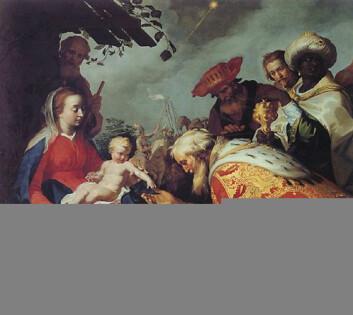 """Adoration of the Magi fra 1624, Centraal Museum, Utrecht."""