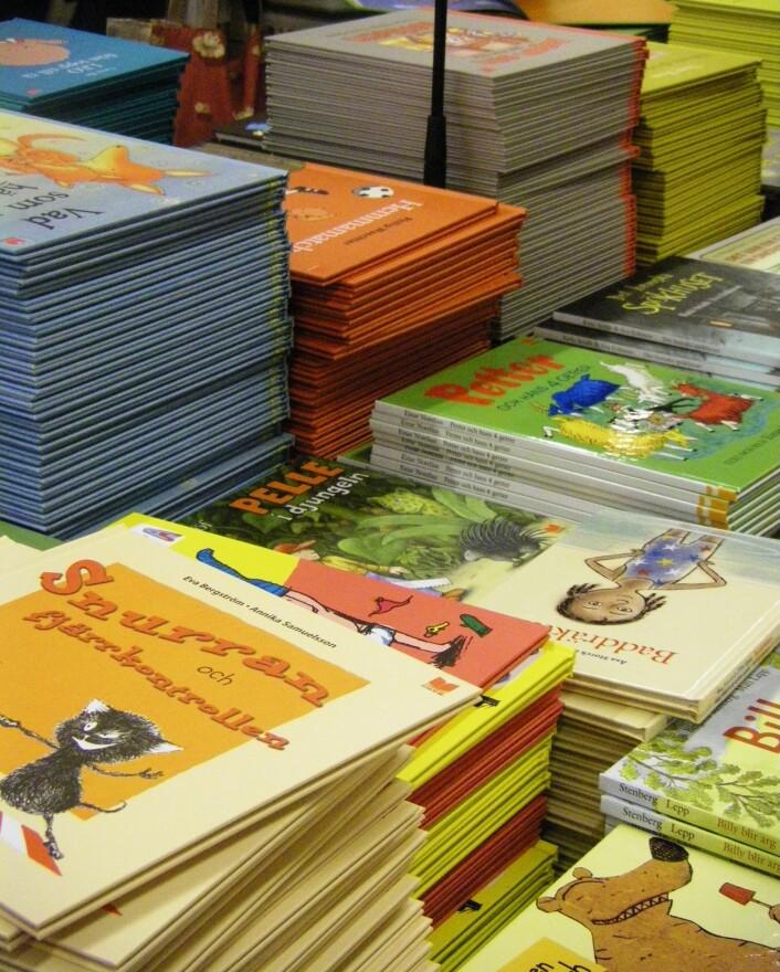 """""""Bøker for barn. Skumle greier."""""""