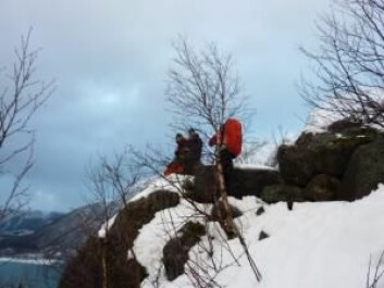 Chance for a rest on the way up to the tunnel. (Foto: (Photo: Miriam Jackson))