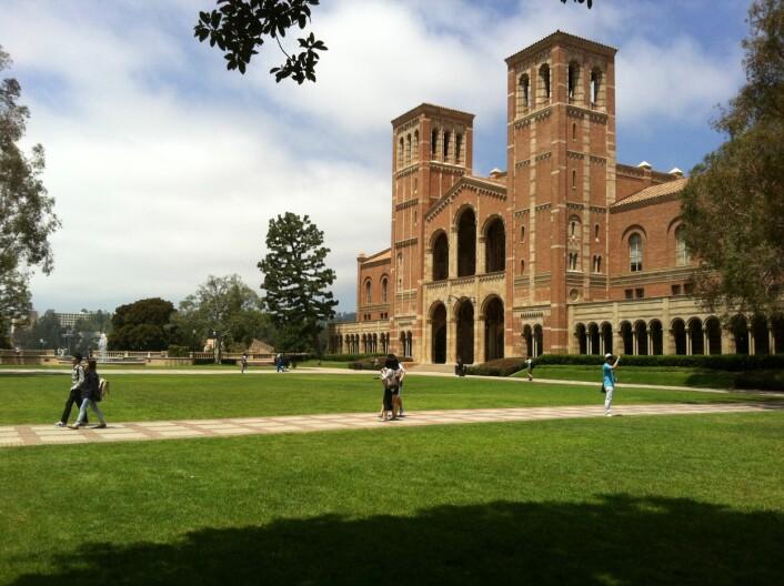 UCLA campus. (Foto: Åsmund Eikenes)