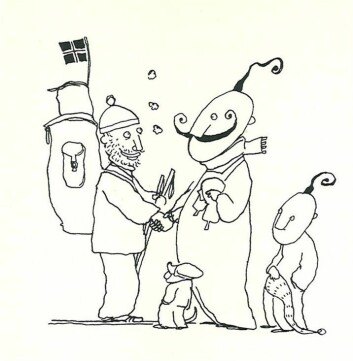 """Erling og Kurt i """"Fisken"""" av Erlend Loe"""