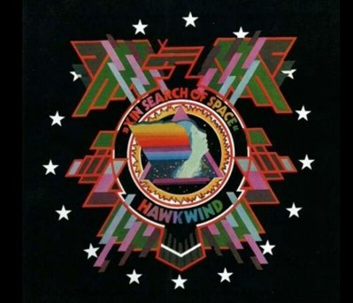 "Hawkwind: ""In Search of Space"", fra 1971. (Foto: (Platecover))"