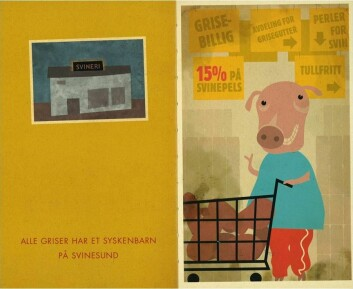 Alle griser har et syskenbån på Svinesund. Aalbu, Ragnar: Grundig om gris