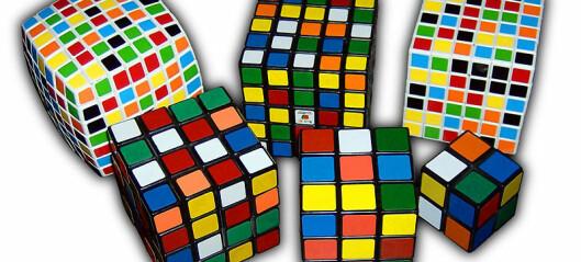 Kjed-sommer-lig? Forsk på en diger Rubiks kube.