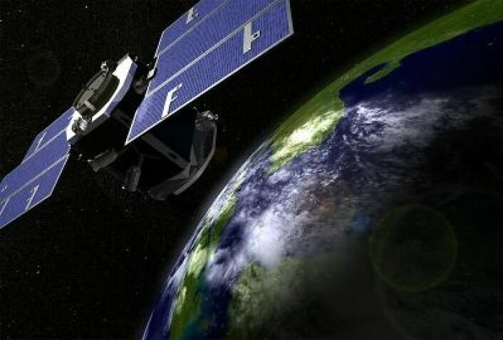 CloudSat har gitt ny innsikt i bidraget fra regnvær og snøbyger til klodens energiregnskap. (Foto: (NASA))