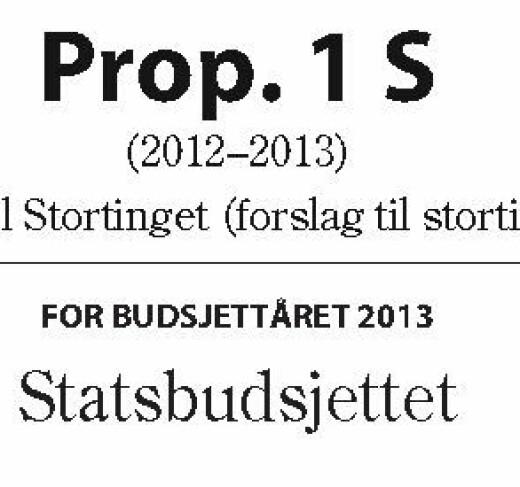 En god start - tidsserier over statsbudsjettet