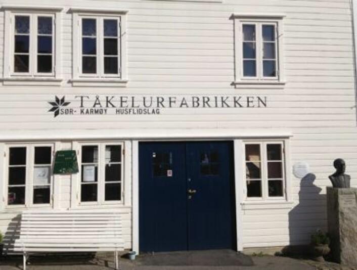 Her i Skudeneshavn foregikk produksjonen av tåkelurer. (Foto: T. Wahl)
