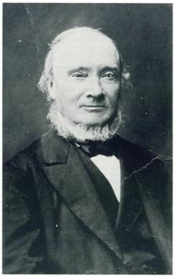 Carl Christian Wischmanns portrett av Ivar Aasen frå 1881 (Foto: (Kjelde: Wikimedia Commons))