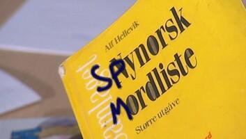 Bokmålselevar lærer av eldre elevar at nynorsk er noko drit. (Foto: © NRK)
