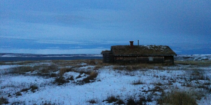 Heimplassen til Isak Saba ved Varangerfjorden. (Foto: Øystein A. Vangsnes)
