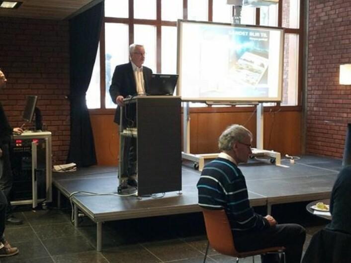 Professor emeritus Ivar Ramberg. (Foto: Realfagsbiblioteket)