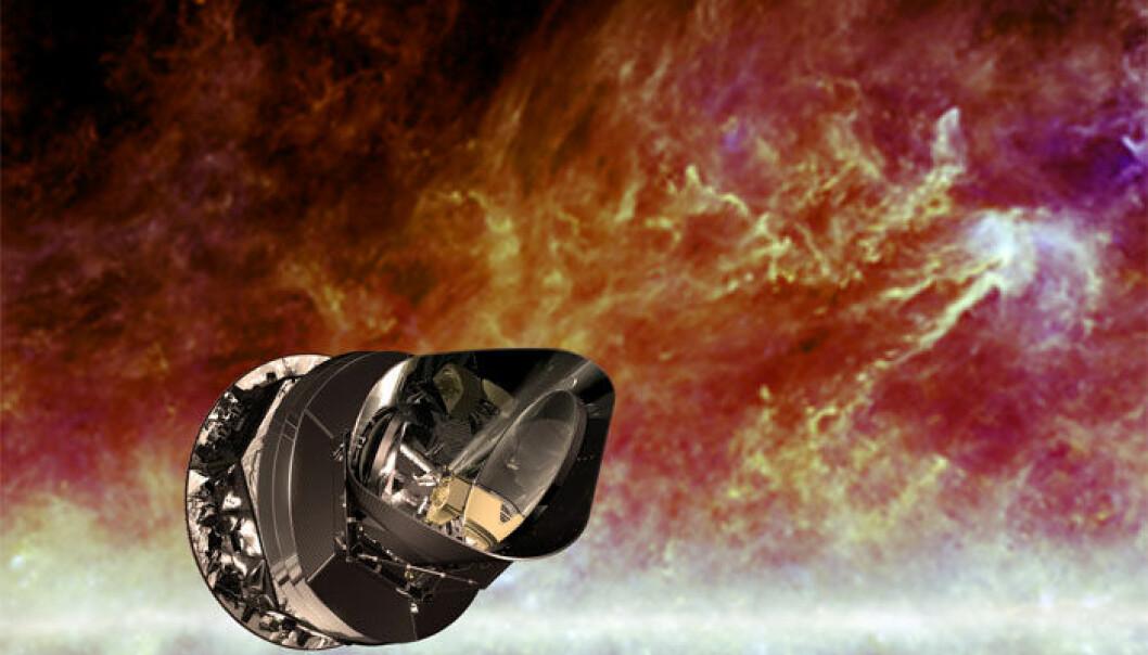 Romteleskopet Planck ser Melkeveiens magnetfelt