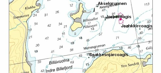 Språkskatt opp fra havbunnen i Porsangerfjorden