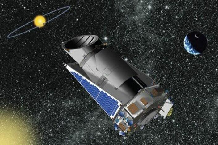 Romteleskopet Kepler. (Foto: (Bilde: NASA))