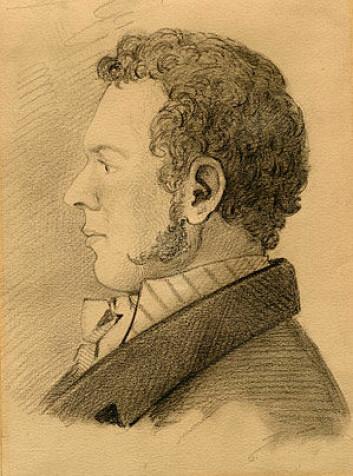 Bernt Michael Holmboe. (Illustrasjon: Public domain)