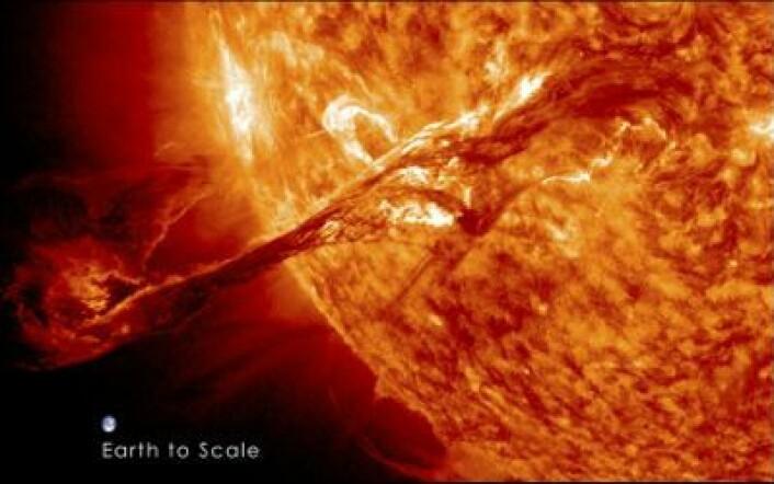 """""""Ett bilde sier mer enn tusen ord ..."""" (Foto: (NASA))"""