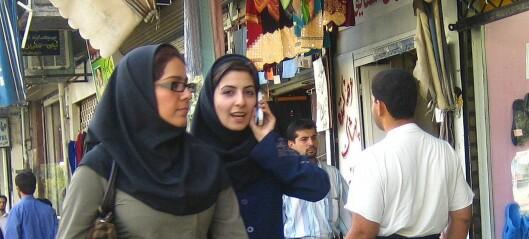 Hvem vet hva om kvinner i Iran?