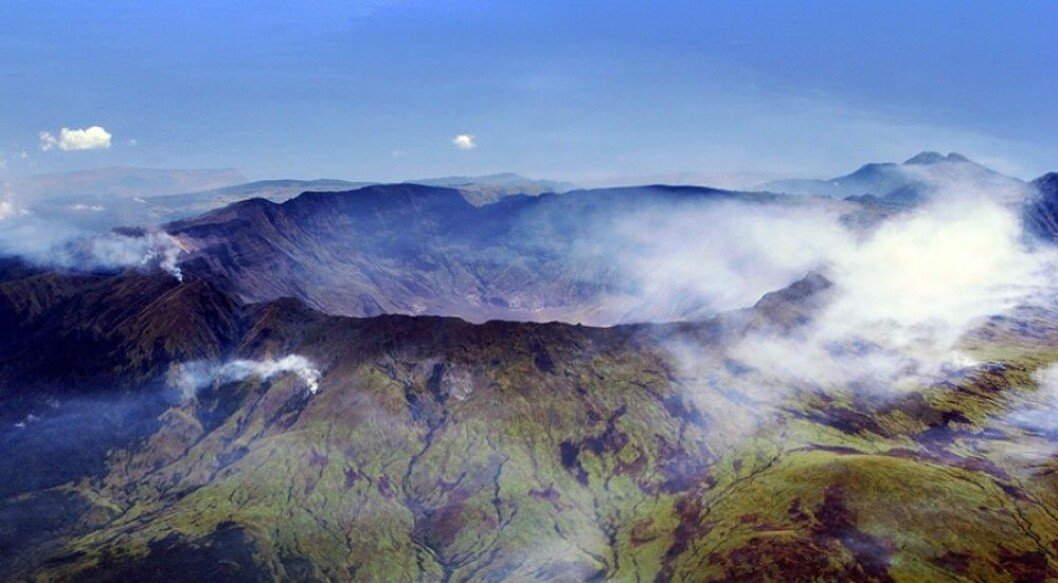Året 1816 er også kalt «Året uten sommer». Årsaken var den indonesiske vulkanen Tambora, som under et utbrudd spydde enorme mengder med støv opp i atmosfæren. I Vest-Europa og det østlige Nord-Amerika førte dette til at sollys forsvant, det ble kaldere og avlinger sviktet. Norden ble ikke like hardt rammet. (Foto: Jialiang Gao/ Wikimedia Commons)