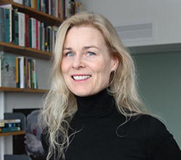 Tina Skouen ved Institutt for litteratur, områdestudier og språk (ILOS) ved UiO. (Foto: Toril Haugen)