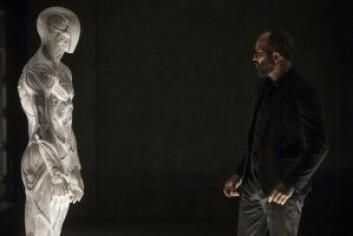 Ifølge John Searle kan robotene i Westworld bare ha en bevissthet og følelser hvis de er laget av biologisk materiale. (Foto: HBO Nordic)