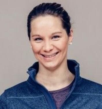 Christina Gjestvang tar doktorgraden ved Norges idrettshøgskole. (Foto: Privat)