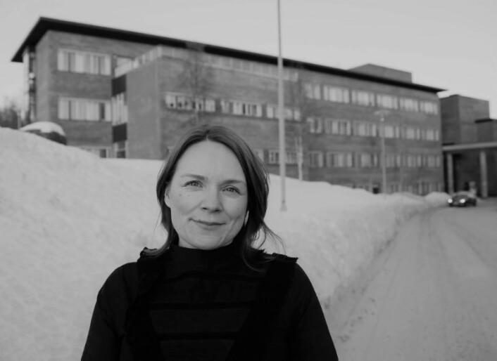 Kristina Labba er doktor i rettsvitenskap ved Det juridiske fakultet på UiT Norges arktiske universitet. I sin doktoravhandling fant hun flere svakheter ved den svenske reindriftsloven. (Foto: Trude Haugseth Moe)