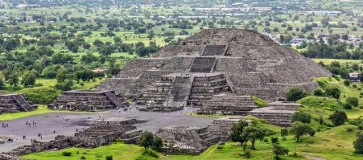 Ruinbyen Teotihuacán var for omkring 2000 år siden en av de største byene i verden. (Foto: Vadim Petrakov / Shutterstock / NTB scanpix)