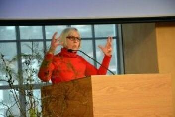 Deborah G. Johnson<em> </em>er professor II ved VISmedia-prosjektetved Universitetet i Bergen (UiB). (Foto: Britt Kristin Ese/UiB)