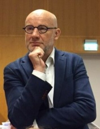 Olli Kangas har ledet prosjektet om borgerlønn i Finland. I 2016 var han i Norge og presenterte dette for norske forskere. (Siw Ellen Jakobsen)