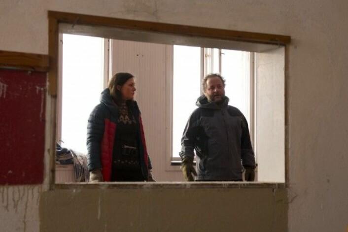 Þóra Pétursdóttir og Bjørnar Olsen. (Foto: Jørn Berger-Nyvoll)