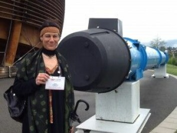Anna Lipinacka er professor ved Universitetet i Bergen og forsker ved CERN. (Foto: privat)