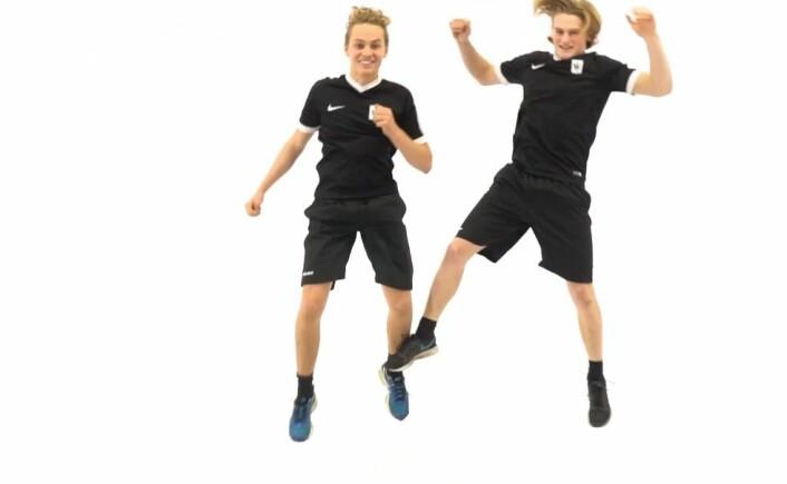 Øvelse i knestabilitet kan redusere risikoen for kneskader. (Foto: Skjermdump fra skadefri.no)