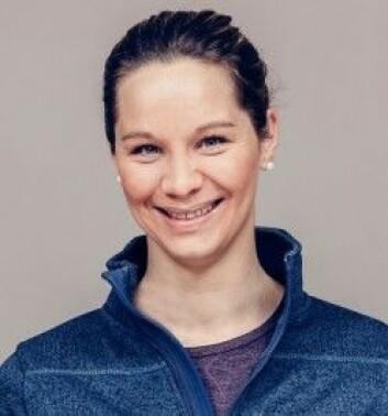 Christina Gjestvang, forsker ved Norges idrettshøgskole. (Foto: Trine Hisdal)