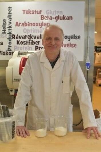 Forsker Svein Halvor Knutsen fra Nofima. Han har ledet prosjektet om kostfiber i mat. (Foto: Siri Elise Dybdal)