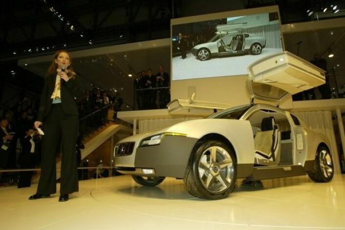 Fra lanseringen av Volvo YCC. (Foto: Volvo Cars)