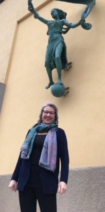 Overgangsalderen skal ikke sykeliggjøres, men heller ikke forties, understreker Lotte Hvas. (Foto: Anne Lise Stranden/forskning.no)