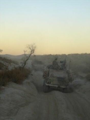 Afghanistan-soldatene ser på seg selv som profesjonelle soldater som har gjort en jobb. En av dem Gustavsen intervjuer sier at hans jobb ikke er noe mer viktig enn den jobben en barnehageansatt gjør. (Foto: Privat)