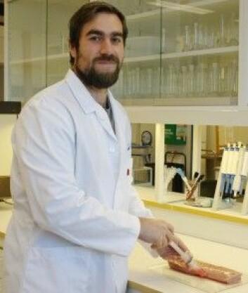 Petter Velje Andersen er stipendiat ved Nofima. (Foto: Wenche Aale Hægermark)