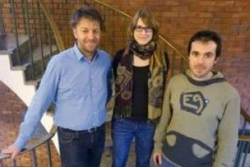 Andreas Max Kääb, Désirée Treichler og Adrien Gilbert er tre av forskerne bak den nye studien. (Foto: Foto: Gunn Kristin Tjoflot/UIO)