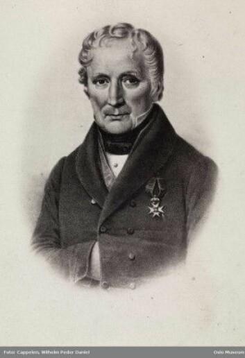 Den danske legen Magnus Andreas Thulstrup var første lærer og overlege ved fødselsstiftelsen i Kristiania. (Foto: Wilhelm Peder Daniel Cappelen/Oslo Museum)