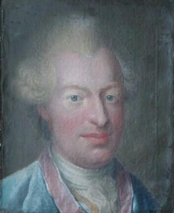 Johan Frederik Struensee ville at Gunnerus skulle bidra til å reformere universitetet i København. (Bilde: Christian August Lorentzen/The Museum of Natural History)