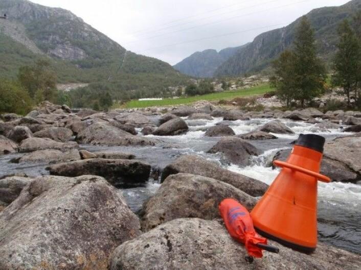 I Norge er mer enn to tredjedeler av elvene påvirket av regulering. Maudalsåna er et regulert vassdrag i Rogaland. (Foto: Susanne Schneider, NIVA)