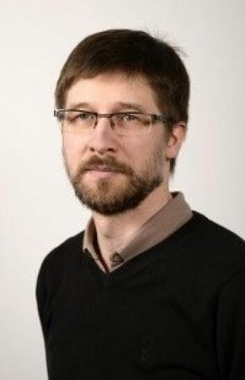 Forsker og hudlege Thomas Roger Schopf. (Foto: Rune Stoltz Bertinussen)
