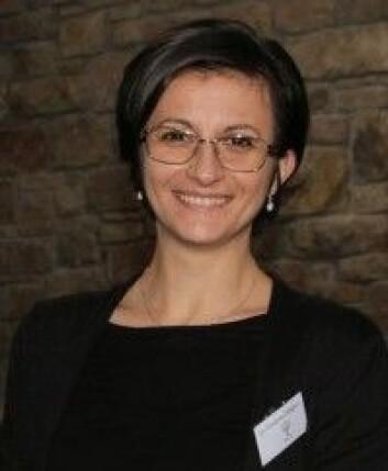 Giovanna Calogiuri har ledet forskningen på den simulerte turen ut i naturen. (Foto: Høgskolen i Innlandet)