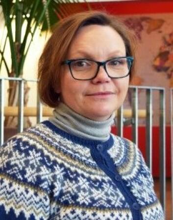 Kari Einarsenforskar på mobbing og varsling på arbeidsplassen. (Foto: Karoline Reilstad / Universitetet i Stavanger)