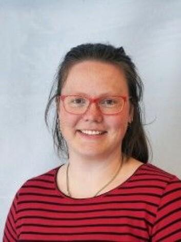 Forsker Ingeborg G. Hallanger. (Foto: Polarinstituttet)