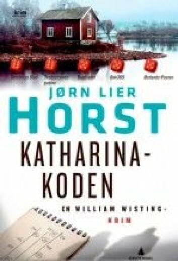 I boken overvåker politiet loggen på mistenktes datamaskin. (Foto: Gyldendal forlag)