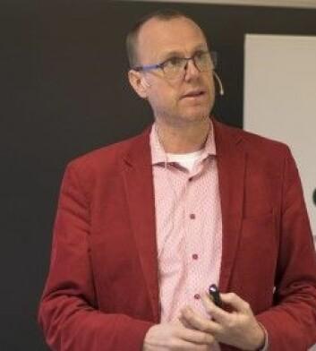 Johan Wiklund, har forsket på ADHD og innovasjon. (Foto: Svein-Arnt Eriksen)