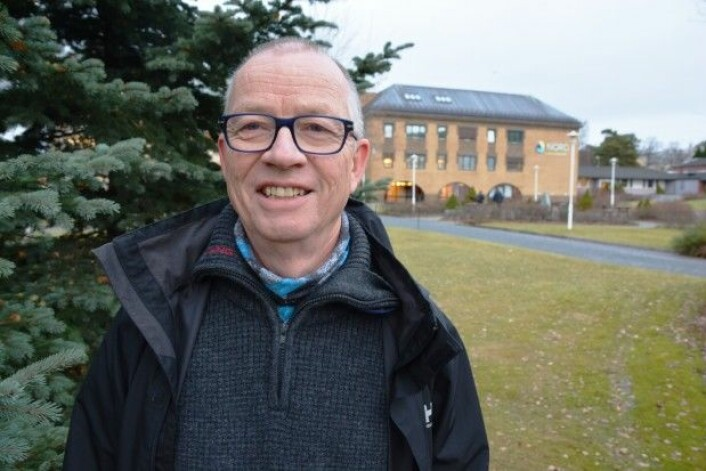 Håkon Holien frå Steinkjer er førsteamanuensis ved Nord universitet. (Foto: Sara Sällström)