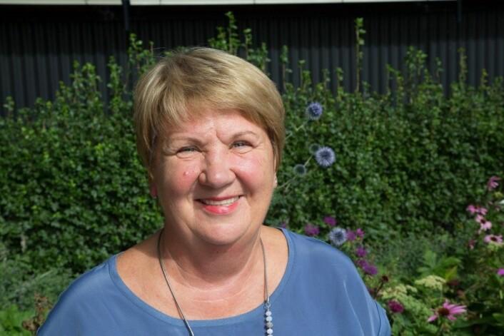 – Jeg er absolutt overbevist om at Olaf Broch hører med blant de store navnene i Norges historie, sier Tamara Lønngren. (Foto: Trine Nickelsen)